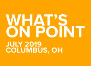 What's on POINT? July edition