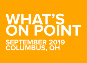 What's on POINT? September edition