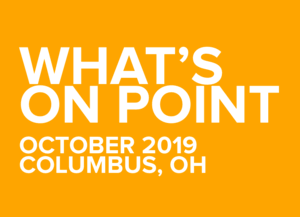 What's on POINT? October 2019