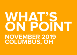 What's on POINT? November 2019