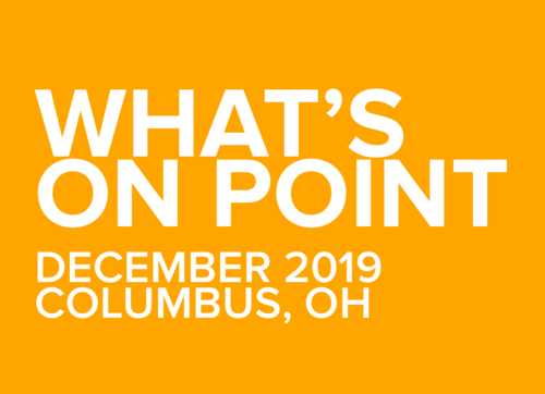 What's on POINT? December 2019