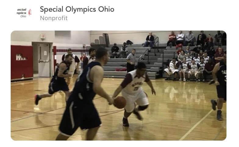 Special Olympics Basketball Skills
