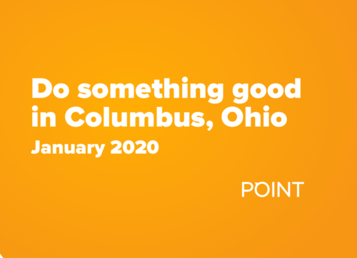 Do something good in Columbus – January 2020